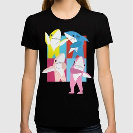 Left Shark Pop Art T-shirt
