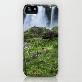 Sahalie Falls No. 2 iPhone Case