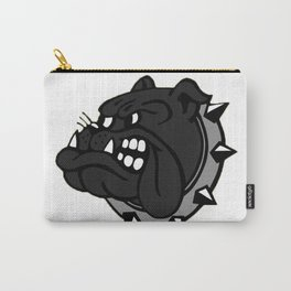 Black Bulldog Carry-All Pouch