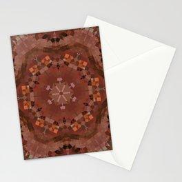 Hardwood Hill Brown Kaleidoscope Stationery Cards