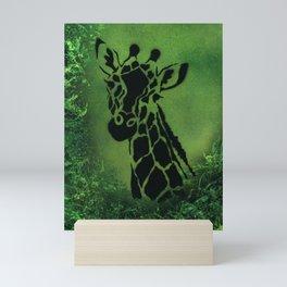 Forest Giraffe Mini Art Print