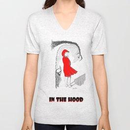 In The Hood Unisex V-Neck