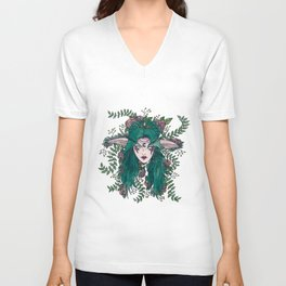 Elf Queen Unisex V-Neck
