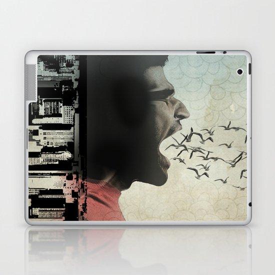 the sound of birds Laptop & iPad Skin