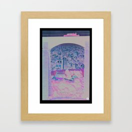 distance apart Framed Art Print
