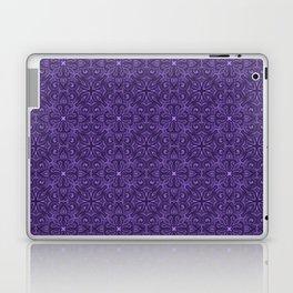 Purple Swirl pattern Laptop & iPad Skin