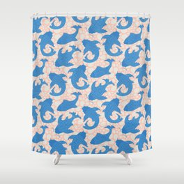 KOI Pattern Shower Curtain