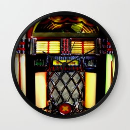 Wurlitzer Jukebox  Wall Clock