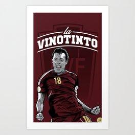 Juan Arango Vinotinto - Trinchera Creativa Art Print