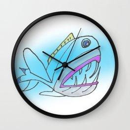 Fish Portrait Wall Clock