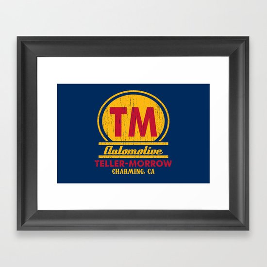 Teller-Morrow Framed Art Print