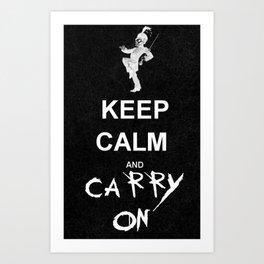 Keep Calm and Carry On: My Chemical Romance Art Print