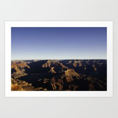 Grand Canyon 3. Art Print