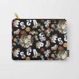 Floral Escape Carry-All Pouch