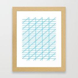 The Calligrapher Framed Art Print