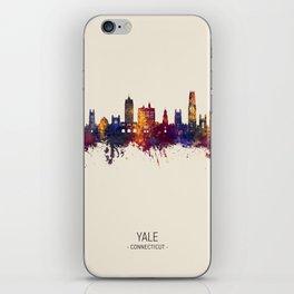 Yale Connecticut Skyline iPhone Skin