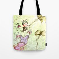 journey Tote Bags featuring Journey by  • naylapulga