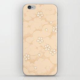 Kumori Nochi Sakura: Orange iPhone Skin
