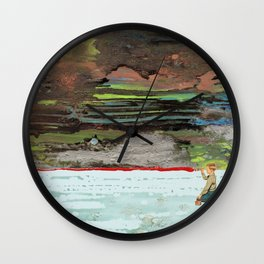 DETAINMENT Wall Clock