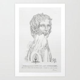 Lucius Annaeus Seneca, Philosopher of Stoicism Art Print