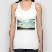sail Tank Tops featuring sail away by Bonnie Jakobsen-Martin