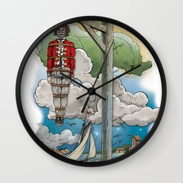 Captain Kiddless Variant Wall Clock