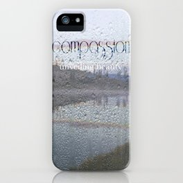 Unveiling Beauty - Compassion iPhone Case