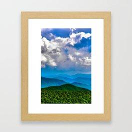 Blue Ridge Framed Art Print