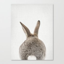 Bunny Tail Canvas Print
