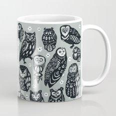 Flock of Owls Mug
