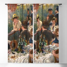 """Pierre-Auguste Renoir """"Luncheon of the Boating Party"""" Blackout Curtain"""