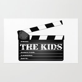 The Kids Clapperboard Rug
