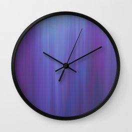 Violet Chromatic Wall Clock