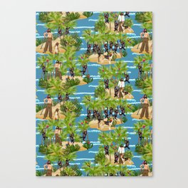 Robinson Crusoe Canvas Print