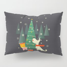 Little White Christmas Westie Pillow Sham