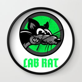 LAB RAT ESSENTIAL GIFT IDEA Wall Clock