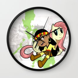 My Lil Gabby v1 Wall Clock