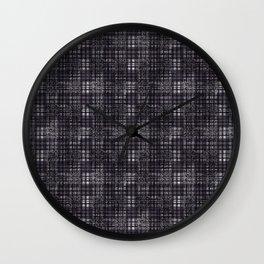 Classical dark cell. Wall Clock