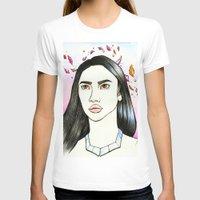 pocahontas T-shirts featuring Pocahontas by An Bidault Terra