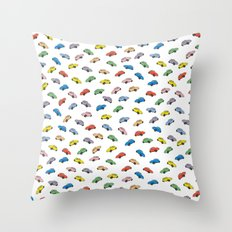 Beetles Throw Pillow
