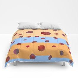 Red meteorites Comforters
