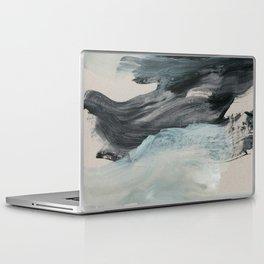 minimal brushstrokes 3 Laptop & iPad Skin