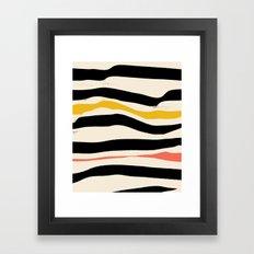 Night Swim — Matthew Korbel-Bowers Framed Art Print