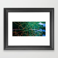 Eastward Framed Art Print