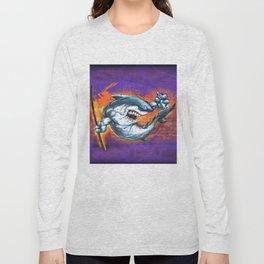 Graffiti Shark Long Sleeve T-shirt