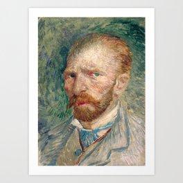 Vincent Van Gogh Self Portrait Art Print