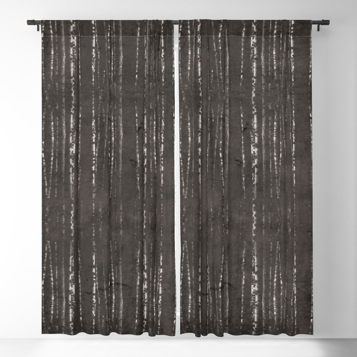 Sea of trees Blackout Curtain