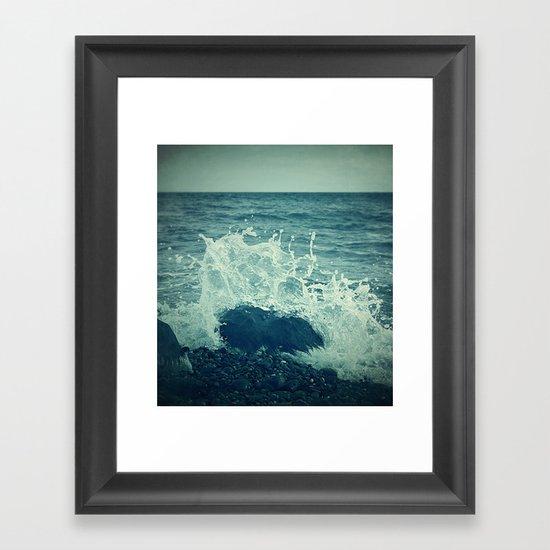 The Sea III. Framed Art Print