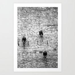 On Course… Art Print