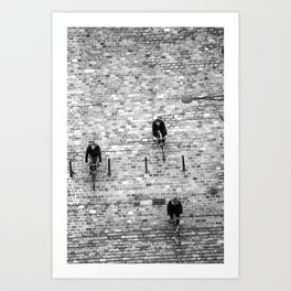 On Course… Art Print